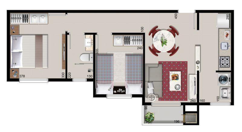 Apartamento à venda,  Itaum,  Joinville