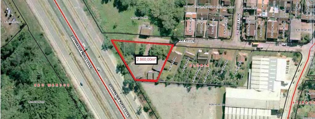 Terreno à venda,  Glória,  Joinville
