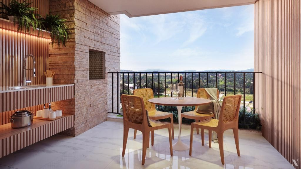 Apartamento em Campo Alegre
