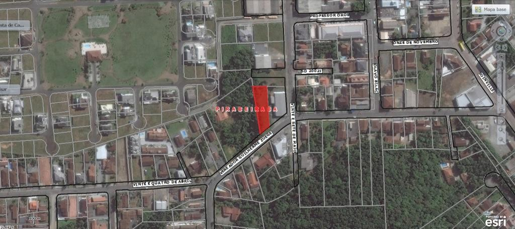 Terreno à venda,  Centro (Pirabeiraba),  Joinville