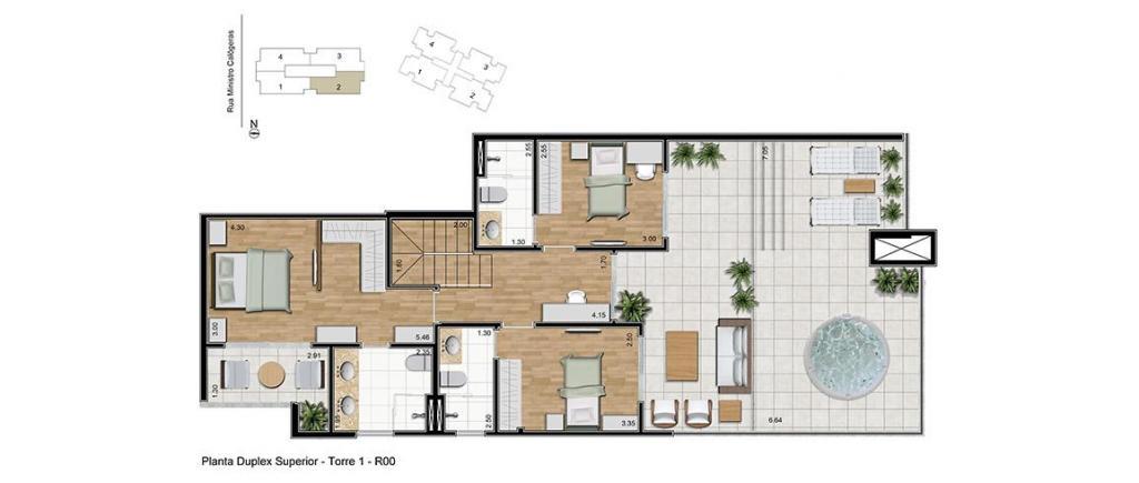 Cobertura Duplex à venda,  Centro,  Joinville