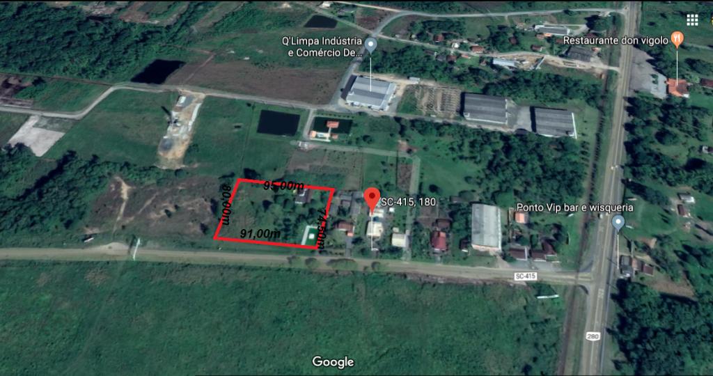 Terreno à venda,  Areias Pequenas,  Araquari